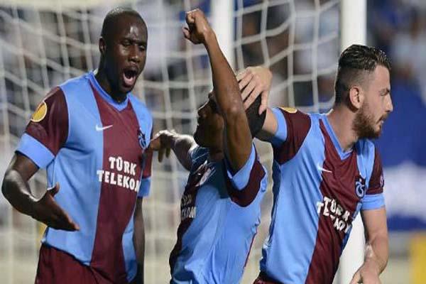 Trabzonspor 2 - Apollon Limassol 1