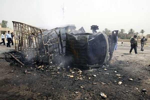 Blasts rock Iraqi capital, kill 7