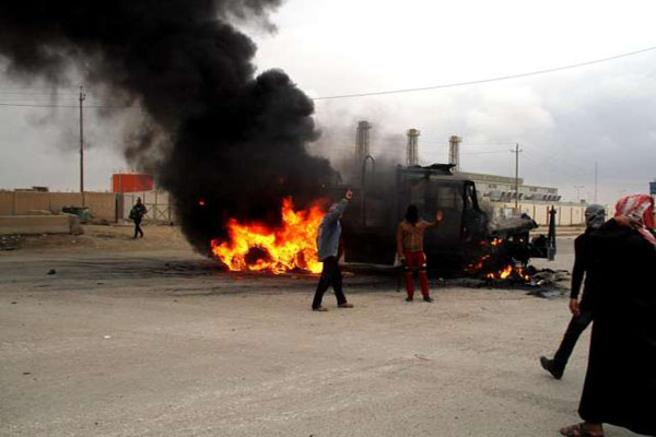 Car bombs in Iraq, 14 killed and 16 injured
