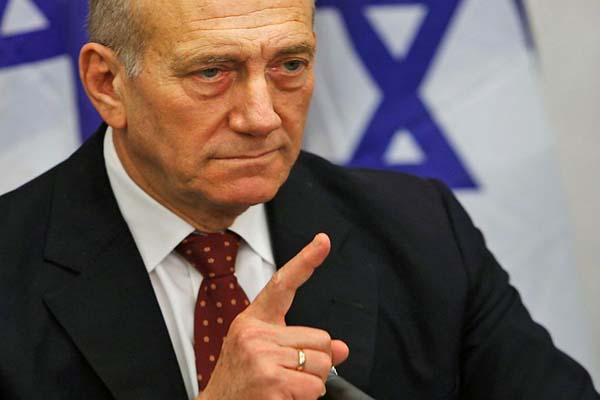 Ehud Olmert, 'Israel has 'declared war' on US govt'