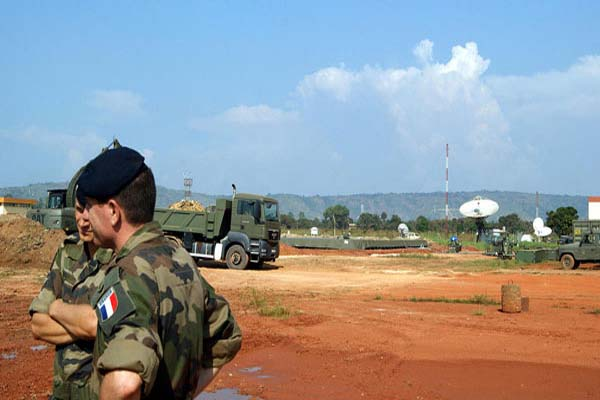 French troops to reach 1,600 in C.African Republic