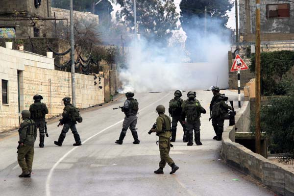 Israeli police attacks Palestinian students
