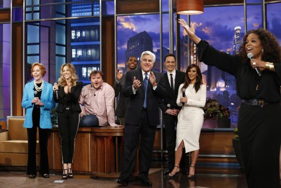 Jay Leno 'Tonight Show' goodbye gets more viewers