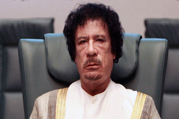 Gaddafi claimed to still be alive