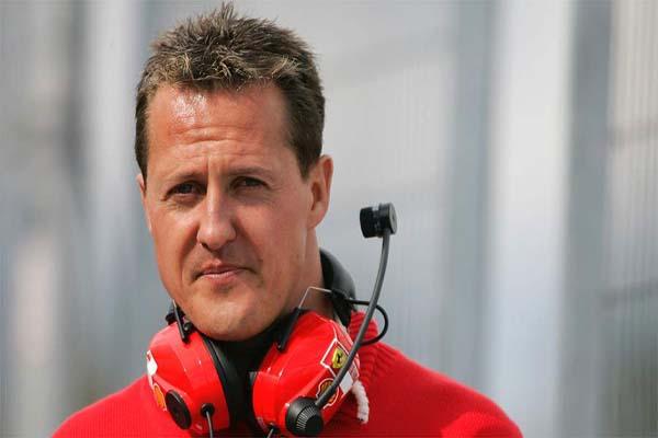 Schumacher's condition shows slight improvement