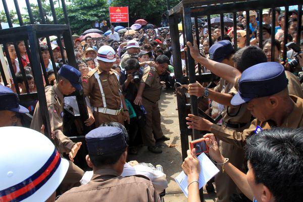 Myanmar releases 56 political prisoners