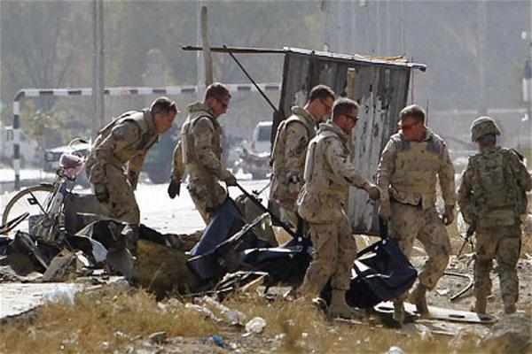 NATO convoy attacked in Kabul
