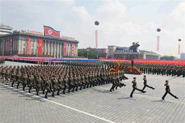 North Korea puts army on alert