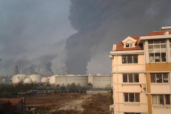 Oil pipeline blast kills 22 in China