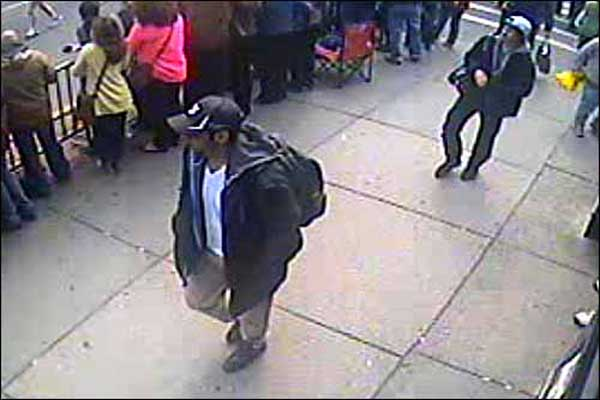 Photos, video of Boston suspects released