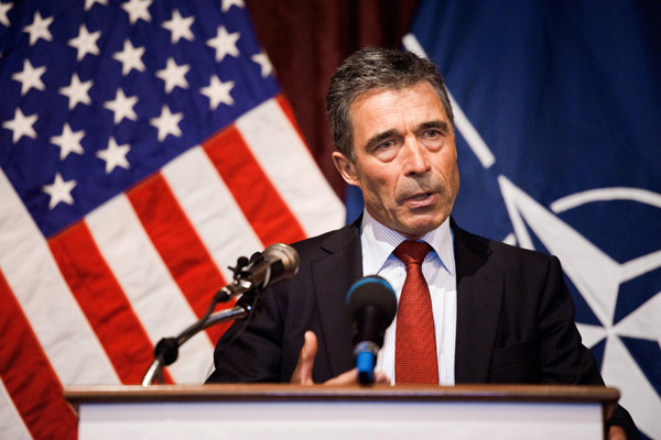 NATO says would have to plan for Afghan pullout by spring