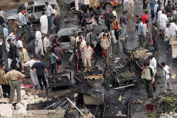 Suicide attack kills 3 in Iraq