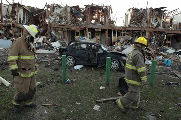 Ammonium nitrate was cause of Texas explosion