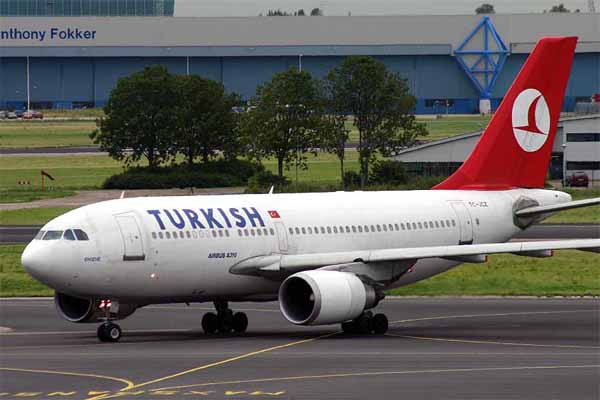 """Turkish Airlines makes deal with """"Booking.com"""""""