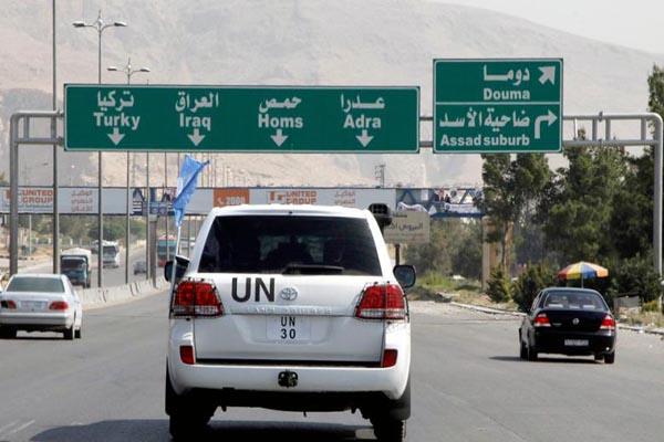 UN experts to visit Syria poison gas site