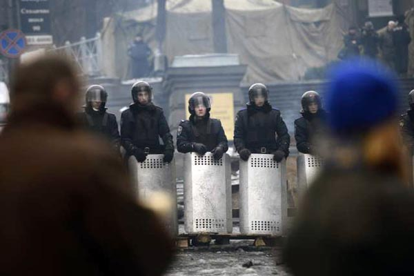 Ukraine places anti-terrorist forces on alert