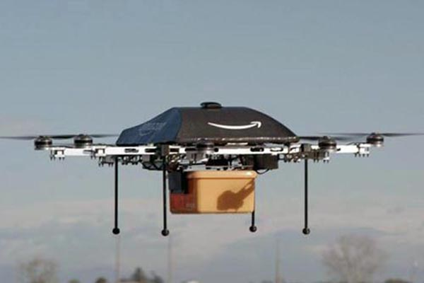 Amazon testing delivery with drones