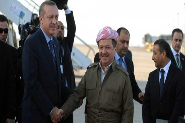 Barzani and Perwer in historical visit to Turkey