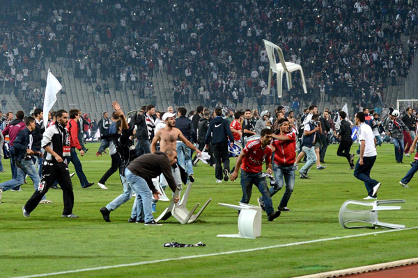 Political unrest behind football hooliganism in Turkey