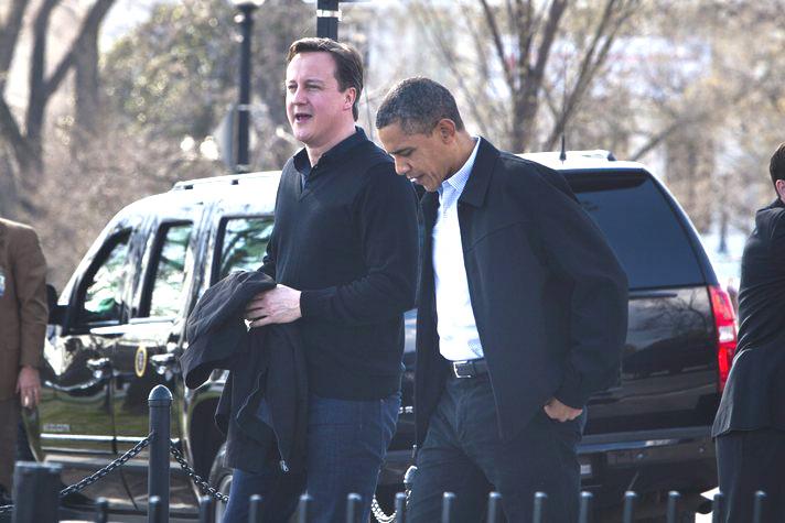 Cameron and Obama discuss Syria