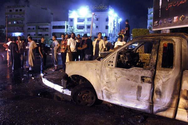 Car bomb kills 1 person in Benghazi