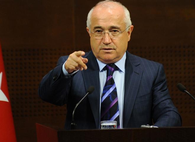 Cemil Cicek speaker calls for immediate solution in Palestine