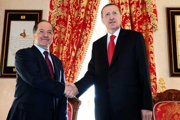 Turkish PM Erdogan to meet Massoud Barzani