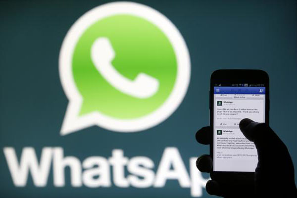 Facebook's new acquisition WhatsApp messaging app down