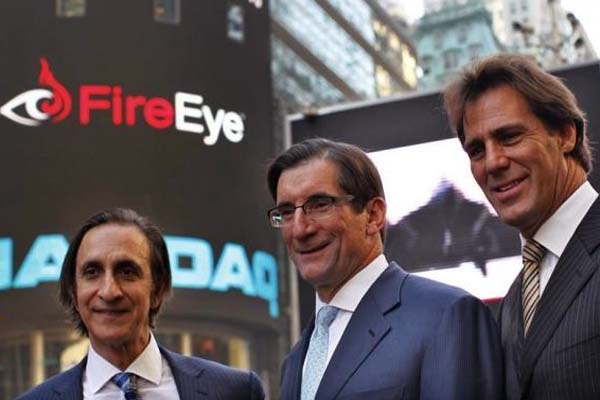 FireEye shares surge 24 percent after Mandiant acquisition