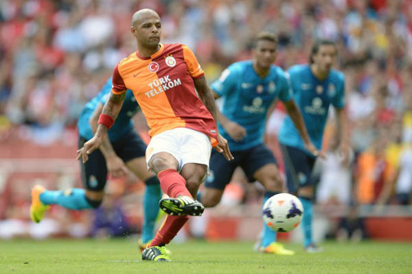 Galatasaray defeat Porto in Emirates Cup