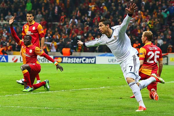 Galatasaray takes on Real Madrid