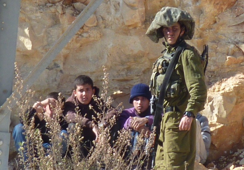 Israeli forces arrest 4 children in West Bank