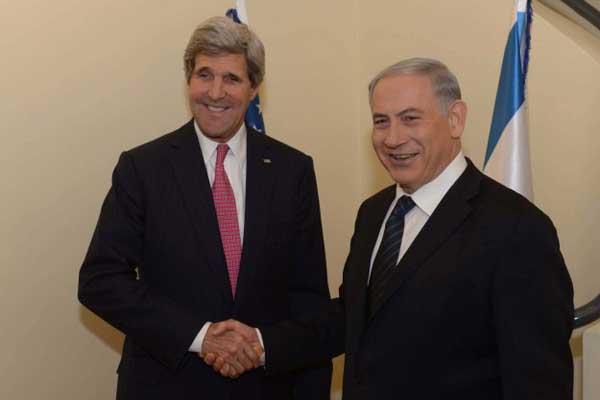 John Kerry meets Netanyahu for 'framework' peace deal