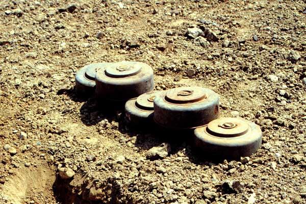 Turkey has 1 million land mines