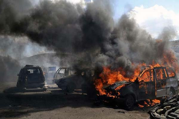 Car bomb explodes at Syria-Turkey border