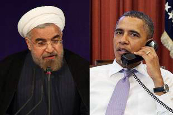Obama made phone call with Rouhani