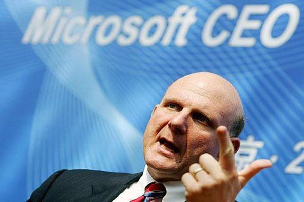 CEO Ballmer retires as Microsoft struggles to modernize
