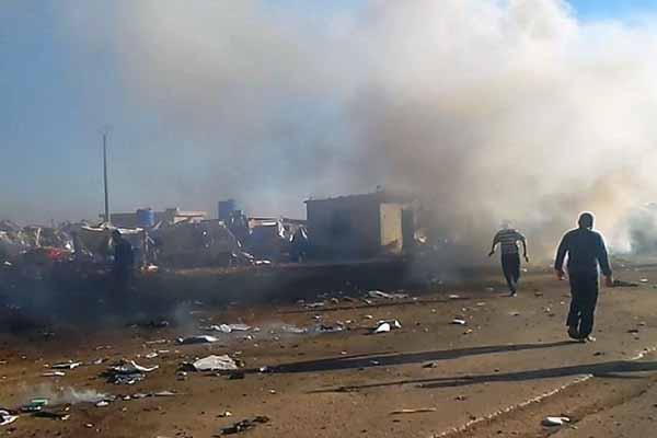 Car bomb in Syrian town kills nine people