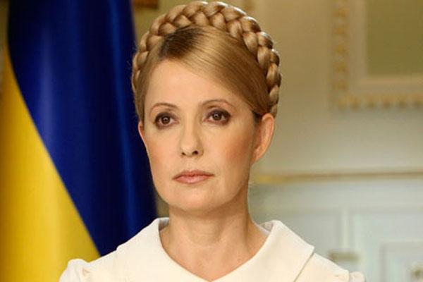 Yulia Tymoshenko is freed from prison