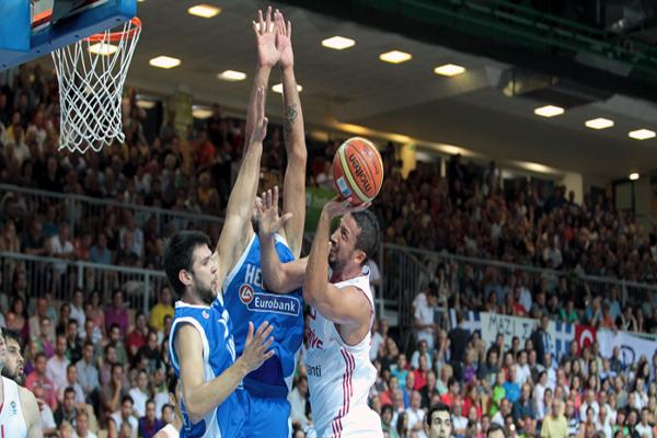 Greece 84 - Turkey 61 in EuroBasket
