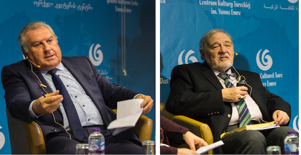 Prof. Ilber Ortayli and Prof. Vahdettin Engin in The London Book Fair