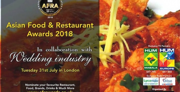 Annual Asian Food and Restaurant Awards returns to London