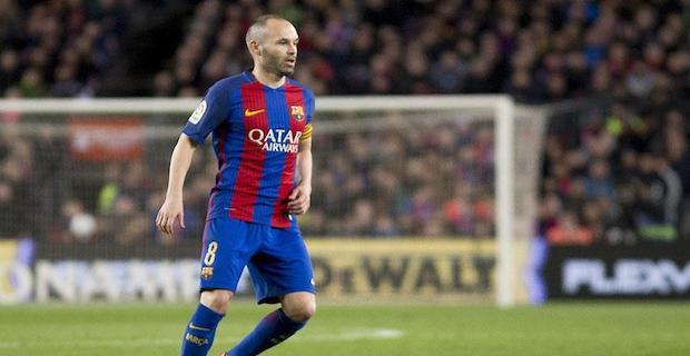 Football: Barcelona veteran Iniesta heads to Japan