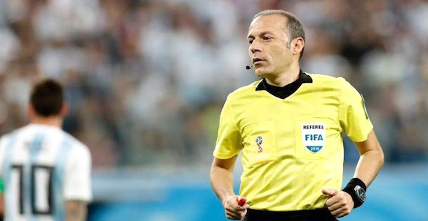Cuneyt Cakir to referee England-Croatia World Cup semis