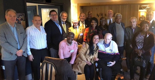 Enfield mayor Saray Karakus visits the Rotary Club of Southgate