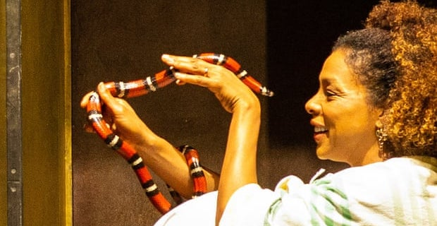 Love and hisses: Cleopatra star Sophie Okonedo on acting with live snakes