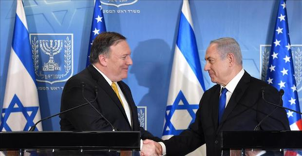 Israeli PM to meet US Secretary Pompeo in Brussels