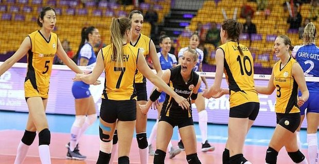 Turkish women reign world volleyball for 4 years