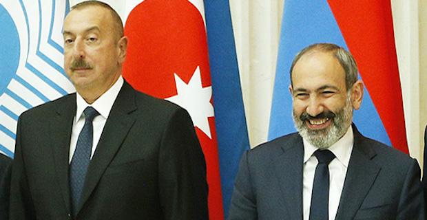 Azerbaijani president, Armenian premier meet in Davos