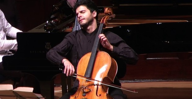 Cellist Jamal Aliyev and pianist Jams Coleman on March 5 at Wigmore Hall